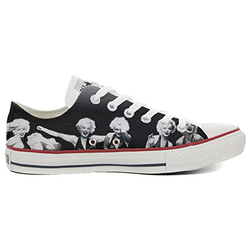 Converse Customized Chaussures Coutume (produit artisanal) Slim Marilyn