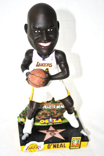 Limited Edition Shaq Oneal #34 LA LAKERS 03 all star game action Limited Edition Bobble head ()