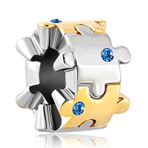 LilyJewelry Autism Awareness Birthstone Bracelet product image