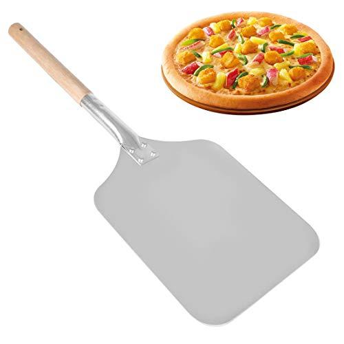 Pizza Peel – 1 St Pro Pizza Schop Pannenkoek Bakkers Paddle met Hittebestendige Houten Handvat Praktische Keuken…