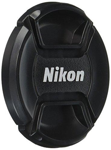 CowboyStudio 58mm Center Pinch Snap-on Lens Cap for Nikon Lens Replaces LC 58 - Includes Lens Cap Holder