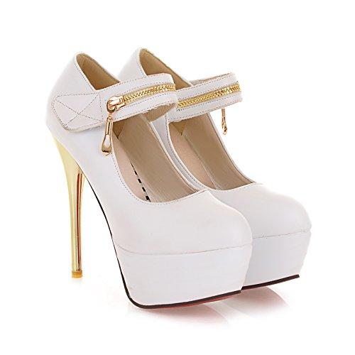 Scarpe Bianco YE chiuse YE Scarpe Donna T8Cqfw1qEH