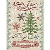 Christmas Cheer Rub-ons with Rhinestones