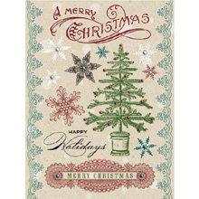 Ons Rhinestones (Christmas Cheer Rub-ons with Rhinestones)