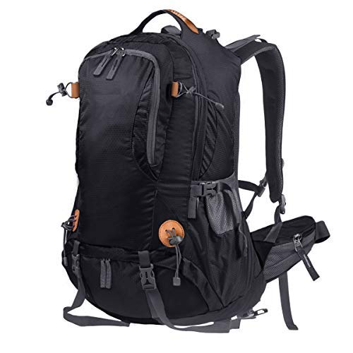 WaHe 40L Outdoor Backpack Camping Climbing Hiking Backpack for Backpacker with Rain Cover ()