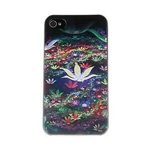 Modelo de flores Hermosa PC caso duro para el iPhone 4/4S