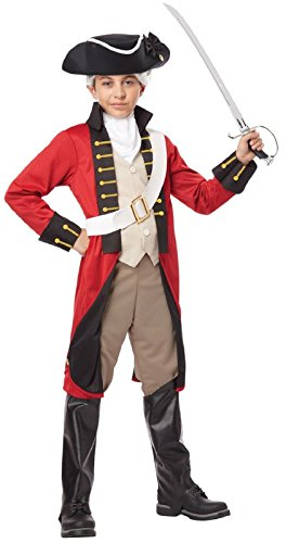 British Red Coat Costume (British Red Coat Child Costume)