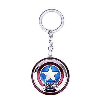TGH (Cap-Am) Llavero Marvel Escudo del CAPITÁN AMÉRICA ...