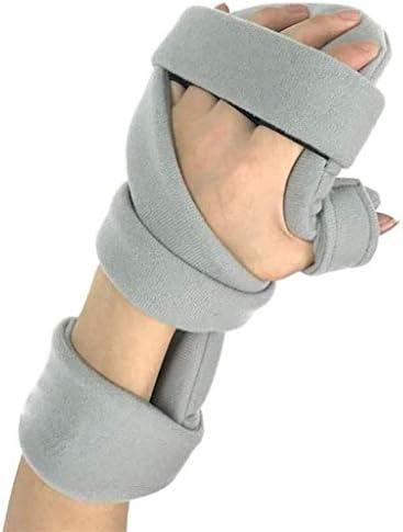 TINWG Finger-Trainingsgerät, Schienen-Griffbrett, elastisch, Anti-Spastizitätshilfe, Finger-Orthese für Schlaganfall/Hemiplegia/Traumatische Gehirnverletzungen 525, Rechts