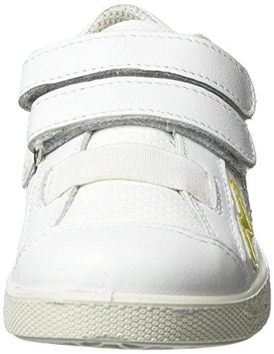 Primigi Mädchen Pho 7573 Low-Top Weiß (BIANCO/BIANCO)