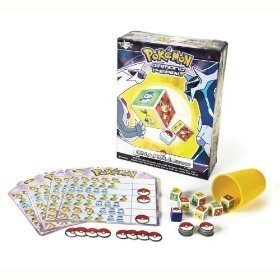 Pokemon Pearl & Diamond On A Roll Dice Game ()