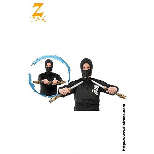 Dagas espadas Ninja Set para guerrero con capucha: Amazon.es ...