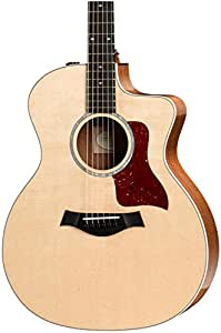 Taylor 200 Series 214ce-FS Deluxe Grand Auditorium Acoustic-Electric Guitar Natural