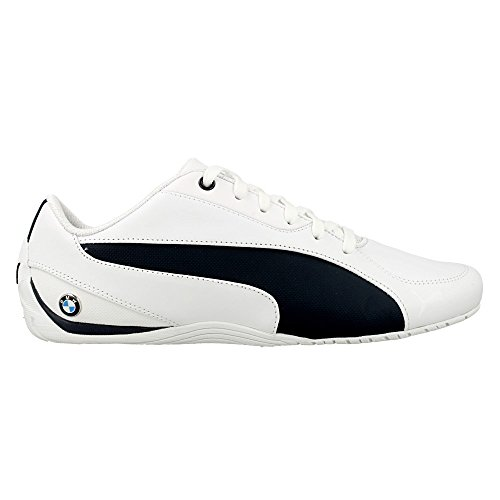 Puma Unisex-Erwachsene BMW MS Drift Cat 5 Low-Top Blanc