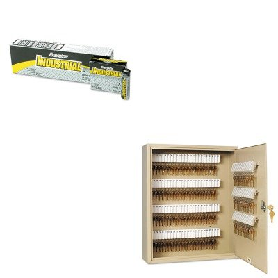 KITEVEEN91MMF201916003 - Value Kit - MMF Uni-Tag Key Cabinet (MMF201916003) and Energizer Industrial Alkaline Batteries (EVEEN91) by MMF