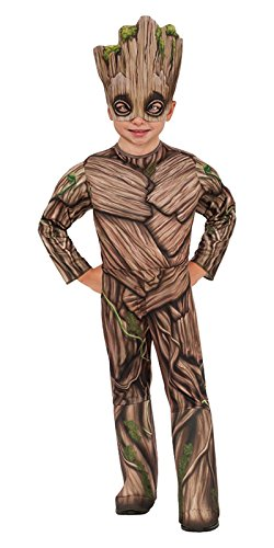 Rubie's Costume Guardians Of The Galaxy Vol. 2 Toddler Deluxe Groot Costume, Multicolor, X-Small (Movie Star Dress Up Party)