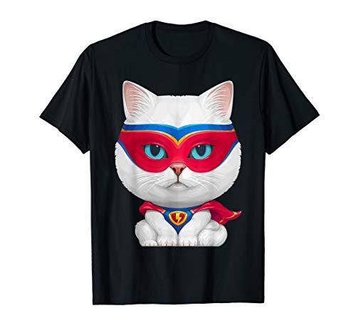 Superhero Cat T-shirt -