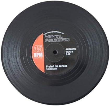 Compra Udane 6 Unids Vintage CD Record Vinyl Coffee Drink Cup Mat Coasters Chic Vajilla de Silicona en Amazon.es