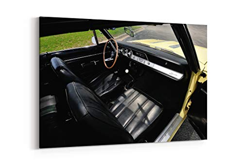 1968 Plymouth Barracuda Formula S Convertible Bh27 Muscle Classic - Canvas Wall Art Gallery Wrapped 26