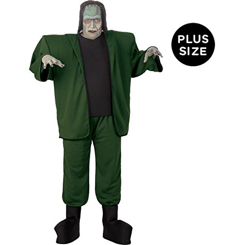 Rubie's Rubie's Men's Plus Size Universal Studios, Classics Collection, Frankenstein, Green -