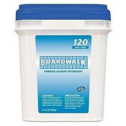 Boardwalk 340LP Laundry Detergent Powder, Summer Breeze, 15.42 lb. Bucket