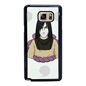Custom made Case,Orochimaru Naruto Cell Phone Case for Samsung Galaxy Note 5, Black Case With Screen Protector (Tempered Glass) Free S-7302380