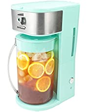 Brentwood Appliances KT-2150BL Iced Tea and Coffee Maker (Blue), normal