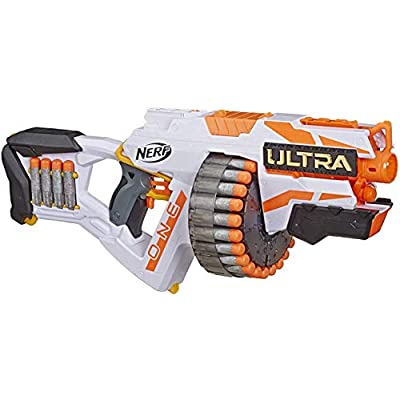 NERF Ultra One Motorized Blaster -- 25 Ultra Darts -- Farthest Flying Darts Ever -- Compatible Only Ultra One Darts: Toys & Games
