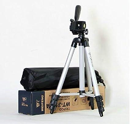 حامل ثلاثي القوائم قابل للطي ومرن ومصنوع من خليط معدني من الالومنيوم WT-3110A لشاشة العرض اف بي في والكاميرا الرقمية