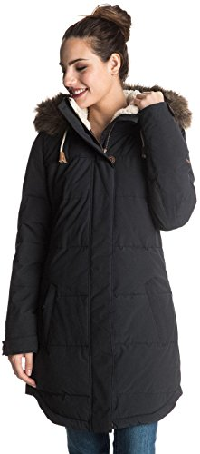 Roxy SNOW Junior's Ellie Insulated Jacket, True Black, L by Roxy