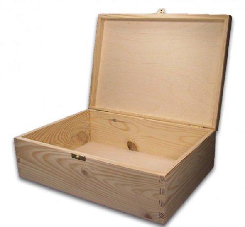 Gran madera-caja, de madera-cinta, caja de madera, apto para A4 ...