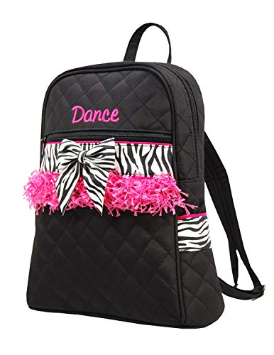 Sassi Designs Child's Small Zebra Dance Backpack Size: Small 12