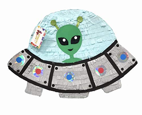 APINATA4U Alien Spaceship Pinata Great for Out of This World Theme Party]()