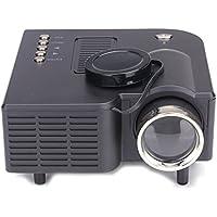 HD 1080P LED Multimedia Aobiny Mini Projector Home Theater VGA HDMI USB SD