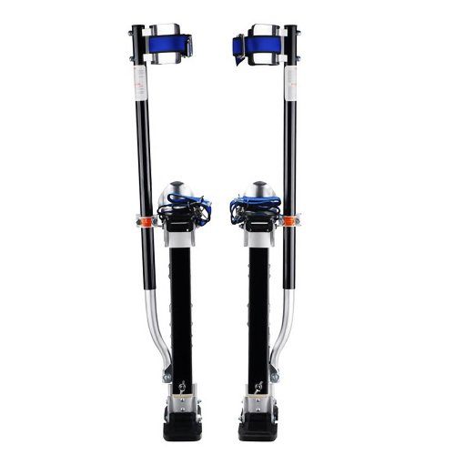 Pentagon tool professional 24 40 black drywall stilts for Drywall delivery cost