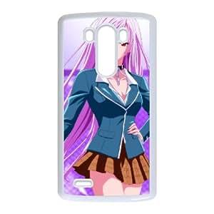 Rosario + Vampire LG G3 Cell Phone Case White JU0043517