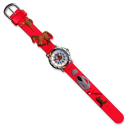 Red English Riding Equestrian Youth Watch by Watch Company