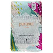 Parasol Baby Diapers, Hypoallergenic, Chlorine Free, Sensitive Skin Safe, Ultra Soft, Super Absorbent - Premium Quality, Size 2, Discover Collection, 56 Count