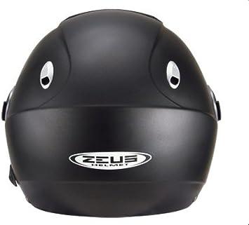 Amazon.es: Zeus - Casco Jet HZ202 Negro Mate con pantalla Solar (XS)