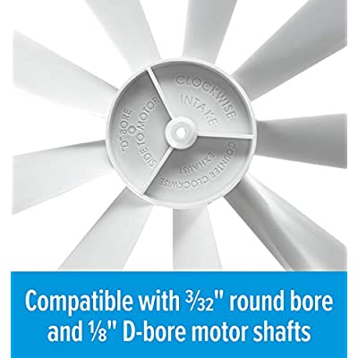 Camco 40428 Replacement RV Vent Inverse Fan Blade: Automotive