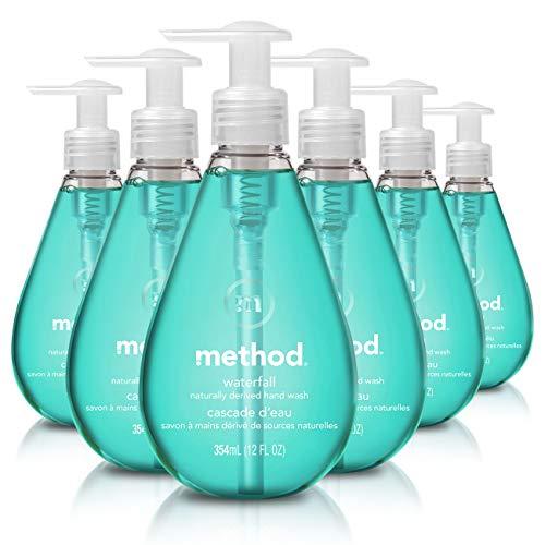 Method Gel Hand Soap, Waterfall, 12 Ounce (Pack 6)