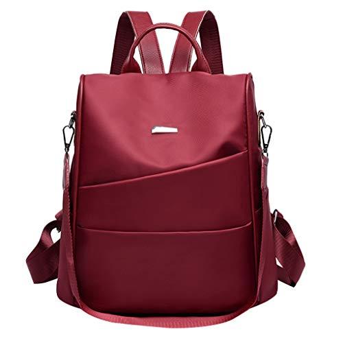 Con Daypack Backpack In Casuale Spalla 3 Lavoro Mano Donna Colori Tracolla Zaino Viaggio Muium Rosso Zainetto Per Scuola Alla A Moda Borse Nylon fq7wggTZ