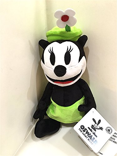 Costume Disney Oswald (Disney Parks Ortensia Oswald the Lucky Rabbit Friend Girlfriend 9 inch Plush Doll)