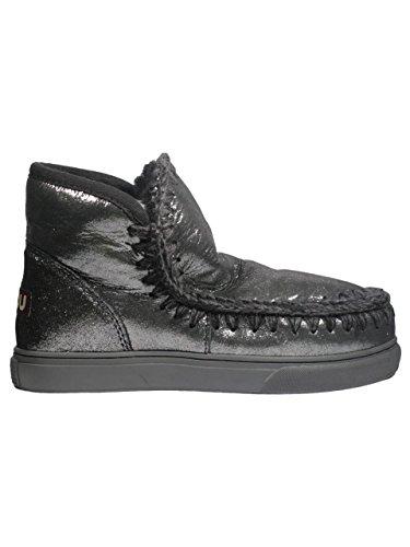 Stiefel 41 Schwarz Stiefeletten Größe Mou amp; Damen schwarz qg0Zxf