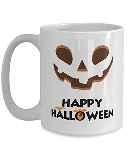 31 Halloween Costume Ideas (Great Gift For Halloween - Happy Halloween Coffee Mugs - 11oz 15 oz Ceramic Novelty Double Wall C-Shape Handle Tea Cup - Best Halloween Costumes Gifts Idea for Womens Men, Kids - 31st October)
