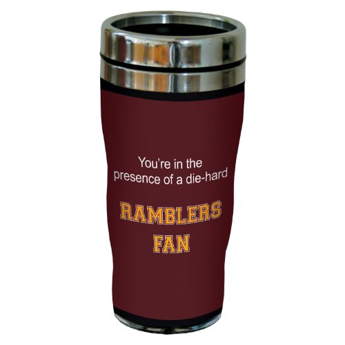 Tree-Free Greetings sg24767 Ramblers College Basketball Sip 'N Go Stainless Steel Lined Travel Tumbler, 16 Ounce by Tree-Free Greetings