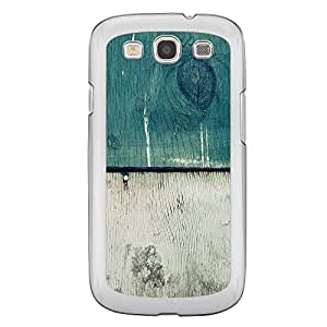 Loud Universe Samsung Galaxy S3 Madala N Marble A Wood 6 Printed Transparent Edge Case - Multi Color