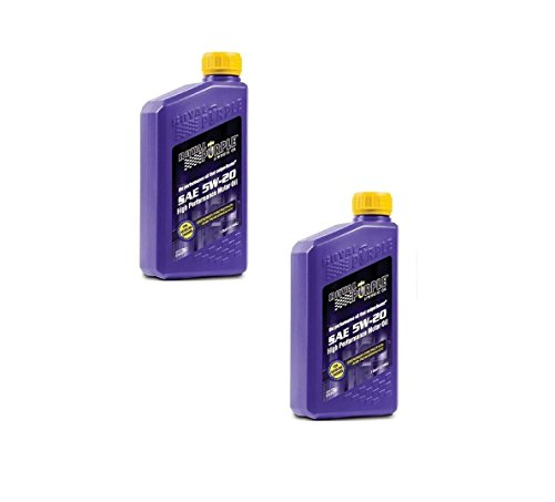 Royal Purple SAE Multi-Grade Synthetic Motor Oil 5W20 Pack of 2 Quarts
