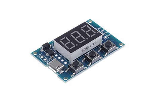 KNACRO 2-Channel Independent PWM Generator Adjustable Duty Cycle Pulse Frequency Module Suitable For Serial Communication