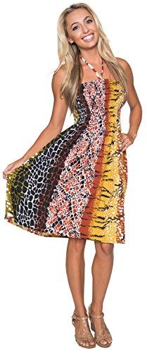 Buy animal skin prom dresses - 1